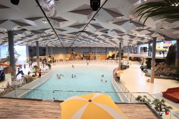 Так выглядит тюменский аквапарк, пермский должен был быть похож на него