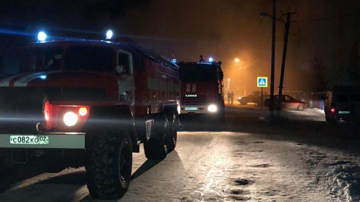 Двое мужчин в Башкирии заживо сгорели в своем доме