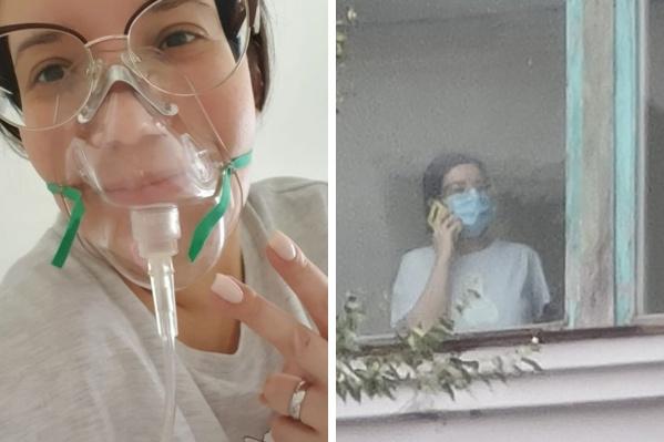 Девушку выписали из ковид-госпиталя уже через 9 дней, а еще через 12 отправили домой