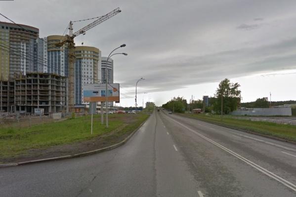 Вдоль улицы Блюхера построят новый проезд