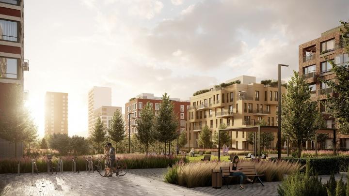Спальни на крыше и трехуровневые квартиры: в «Европейском квартале» построят уникальные урбан-виллы