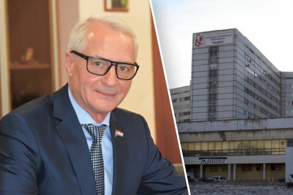 Первым о пациентах, у которых подозревают коронавирус сообщил главный врач медгородка в Тольятти Николай Ренц