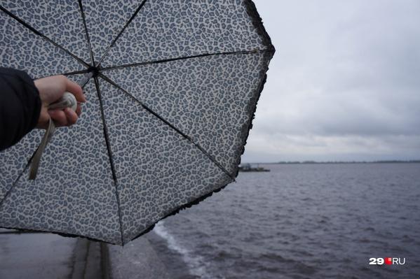 Совет для всех: возьмите с собой зонтики<br>