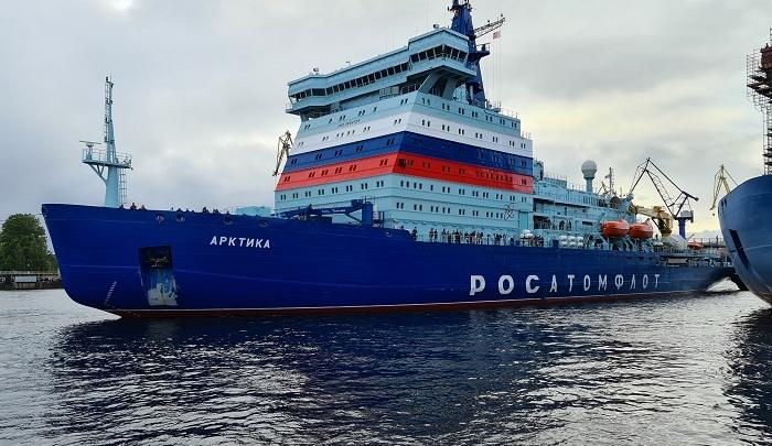 Новый атомный ледокол «Росатома» готовят к работе по притокам Енисея и Северному морскому пути
