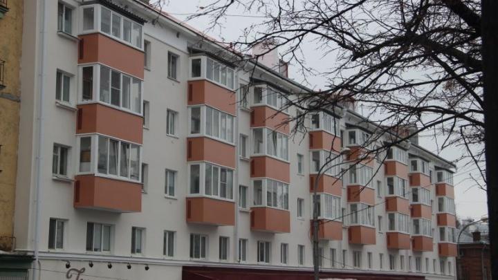 В Перми обновлены фасады шести домов на Комсомольском проспекте