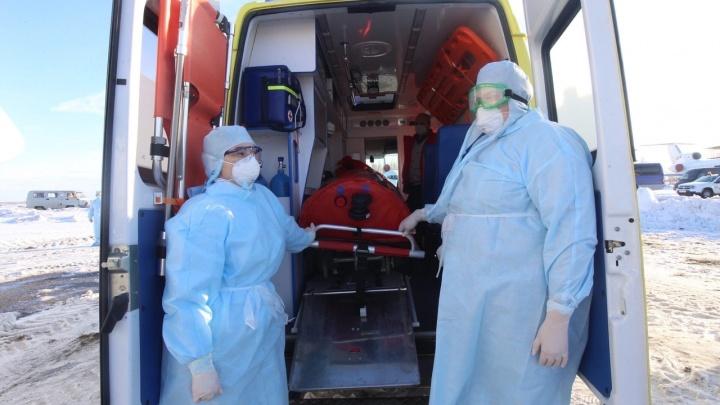 В областном правительстве рассказали о состоянии заболевших коронавирусом