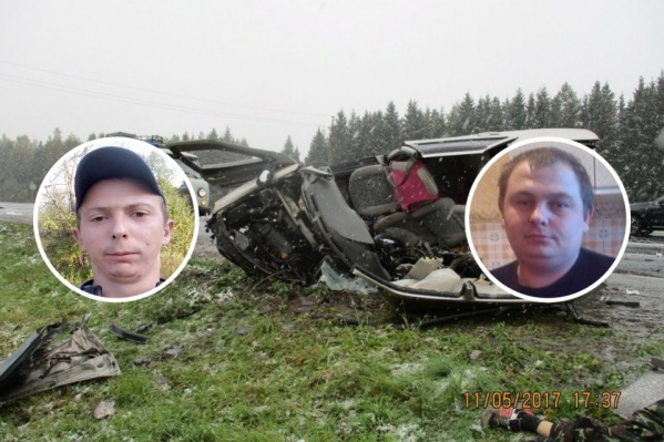 Алексей Хабаров и Иван Рябов из Глебовского погибли на месте ДТП
