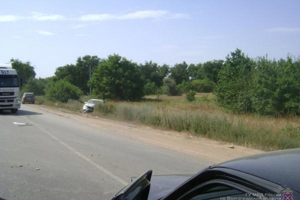 В аварии участвовали сразу четыре машины