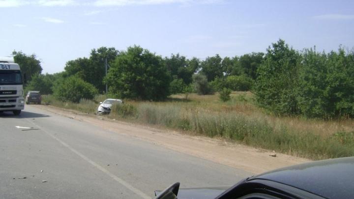 Чудо, что один пострадавший: крупное ДТП на трассе под Волгоградом