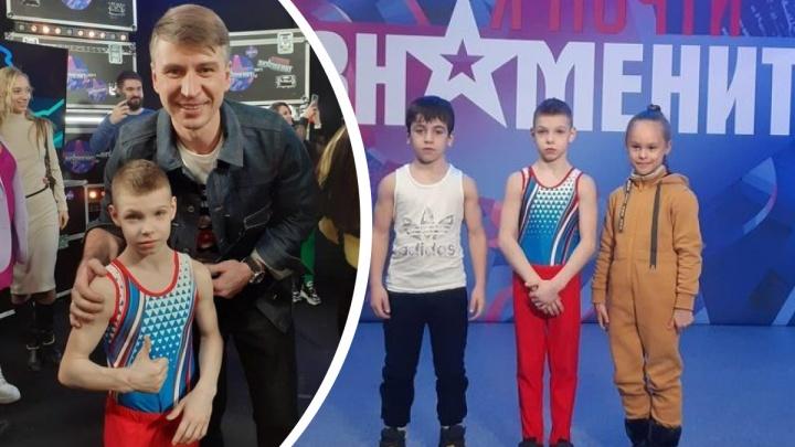 Маленький свердловчанин установил рекорд по отжиманиям, удивив фигуриста Алексея Ягудина в новом ТВ-шоу