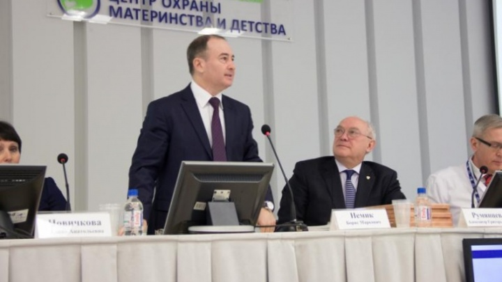 У министра здравоохранения Красноярского края Бориса Немика подтвердился коронавирус