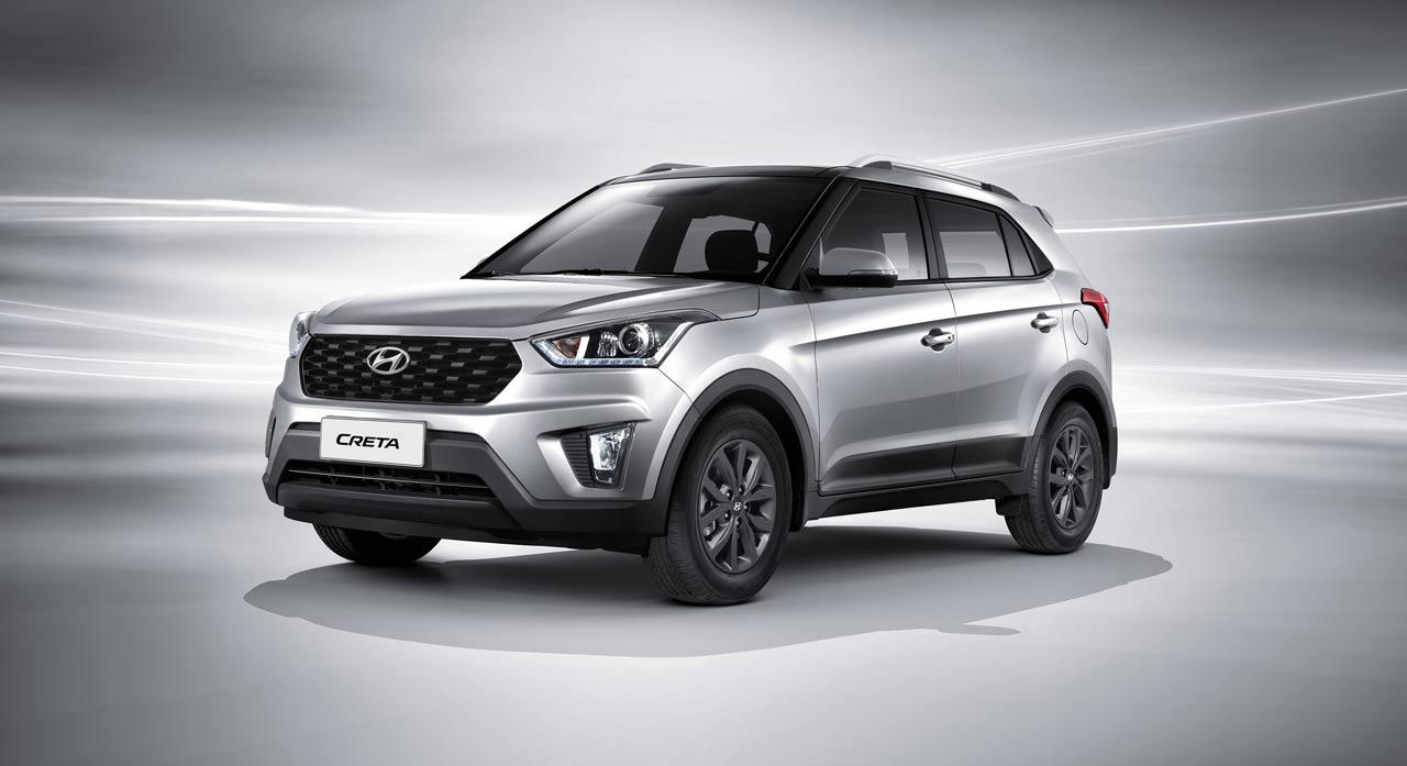 Обычная Hyundai Creta после обновления