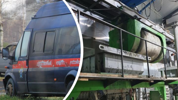 В Устьянском районе рабочего насмерть придавило на производстве бетона