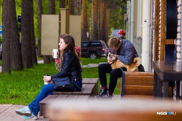 На смену летней жаре в Новосибирск придёт умеренное тепло