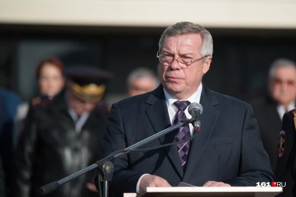 Голубев призвал жителей региона соблюдать санитарные правила