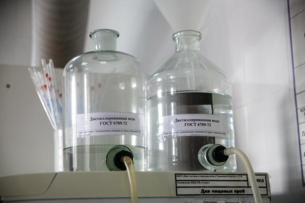 В «Тюмень Водоканале» сообщили, что проводят отборы проб воды
