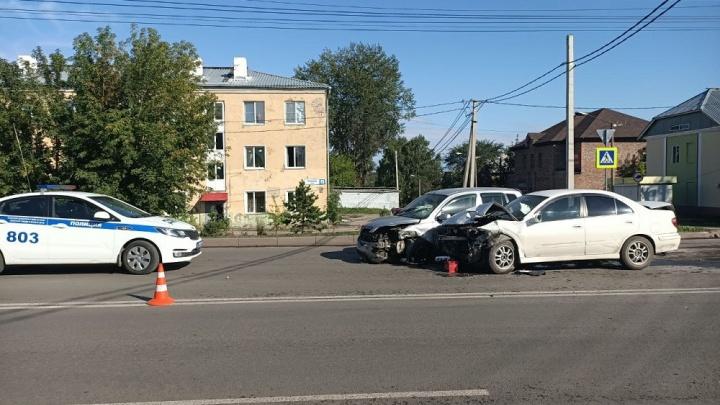 В Кузбассе В ДТП пострадали три человека. Среди них 5-летний ребёнок