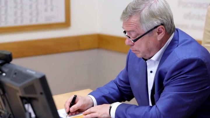 Губернатор Ростовской области ужесточил коронавирусные ограничения