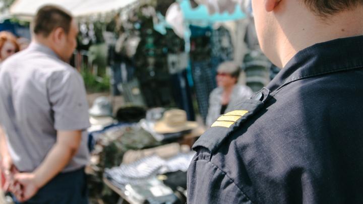 В Самаре зачистят рынок на пересечении Ново-Вокзальной и Московского шоссе