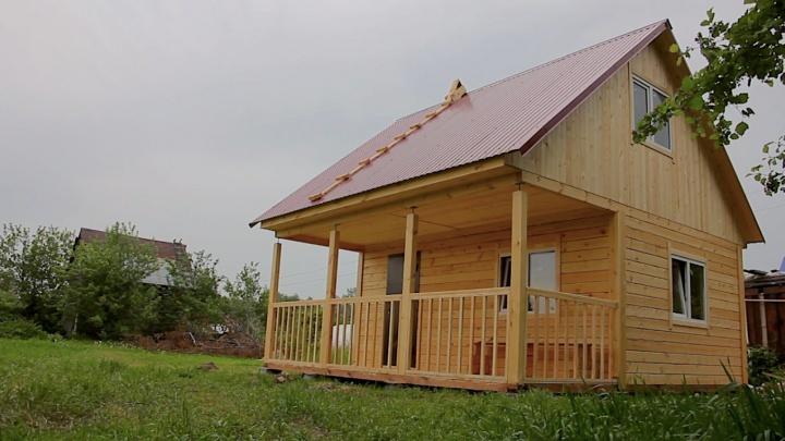 Вместо отпуска — дача: полностью готовый дом 6х6 стоит всего 329000рублей, а фундамент — 33000рублей