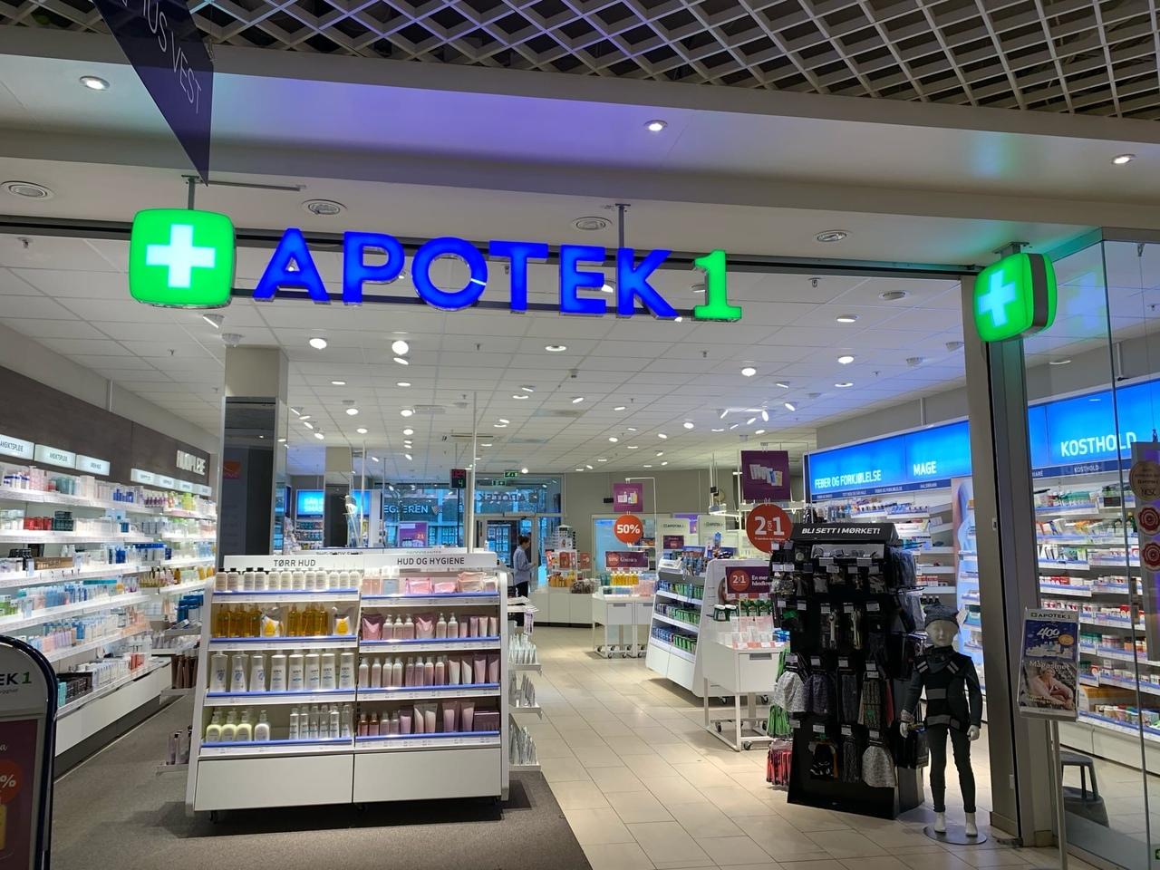 Так выглядит аптека в Норвегии