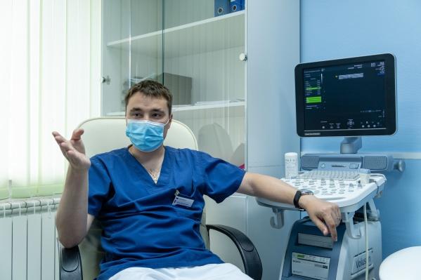 Флеболог клиники «Варикоза нет», врач высшей категории Иван Бобров