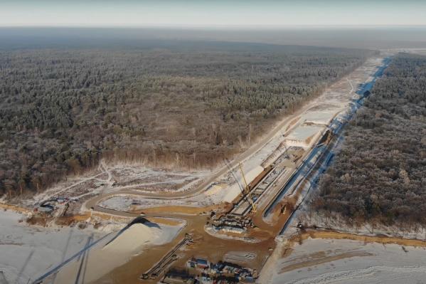 Мост решили строить в одном из самых узких мест Волги в Самарской области