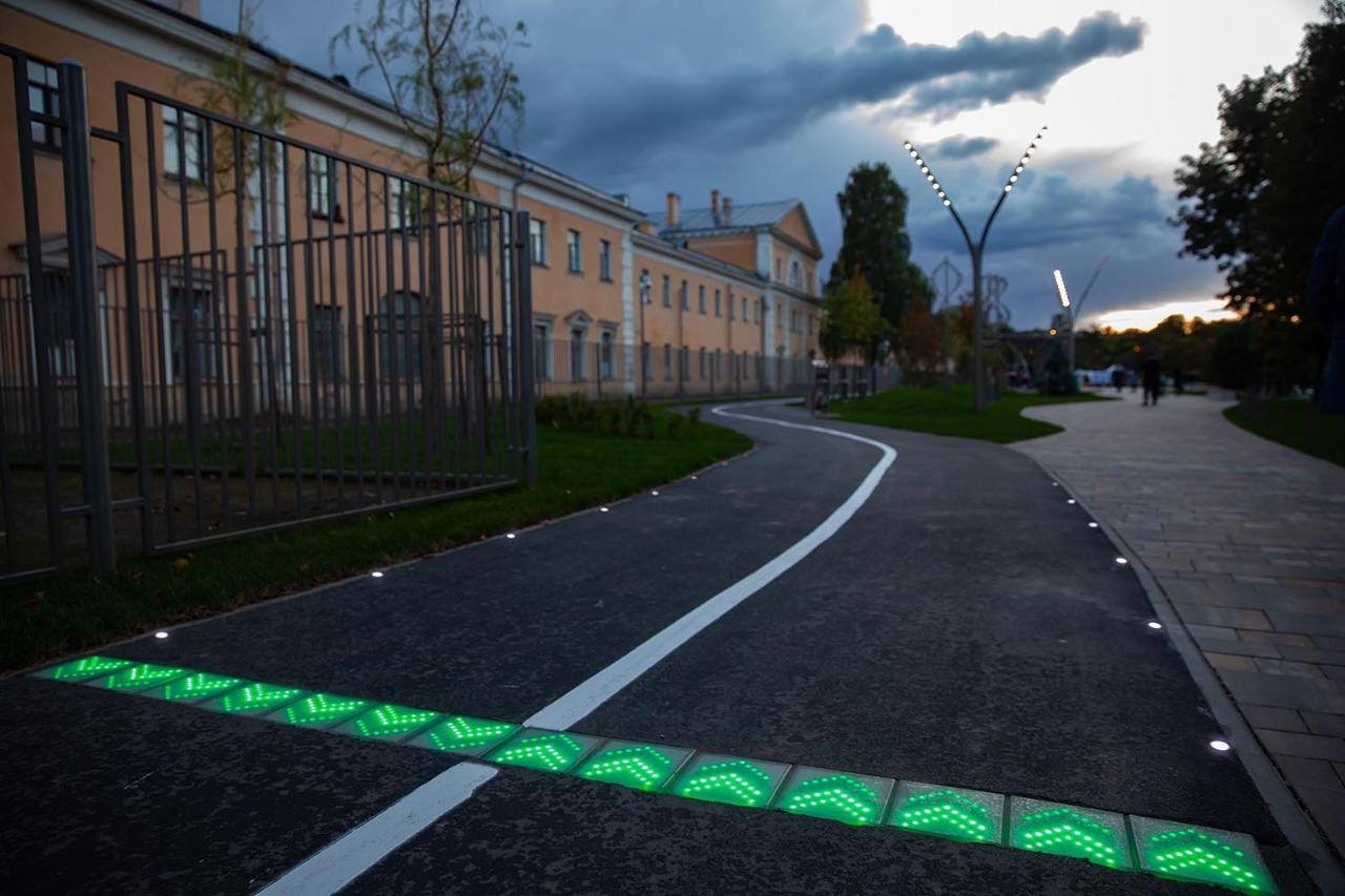 Велоинфраструктура Smart Track в Санкт-Петербурге