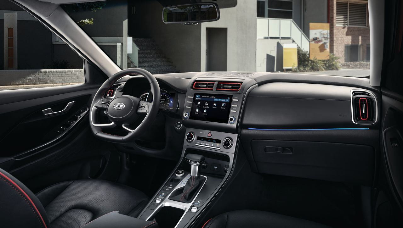 Интерьер Hyundai Creta II