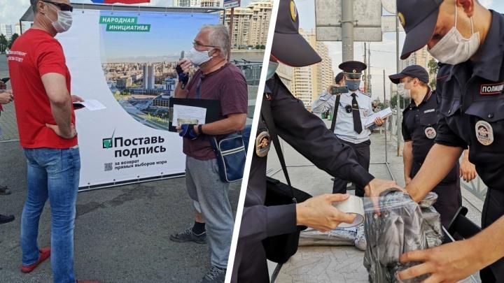 Половина пути пройдена: пять тысяч уральцев оставили подписи за прямые выборы мэра
