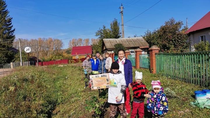 В Башкирии козы уничтожили аллею, которой похвастался Радий Хабиров