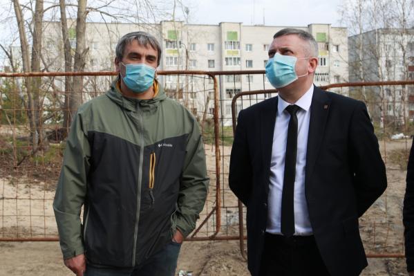 Игорь Скубенко рассказал о предложении ввести в Северодвинске обязательный масочный режим