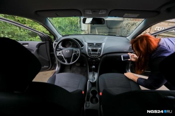 Чаще всего авто угоняют с парковок ТРЦ, но в данном случае владелица авто просто пыталась выгородить супруга
