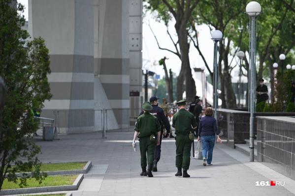 На центральных пешеходных улицах Ростова могут появиться дополнительные патрули