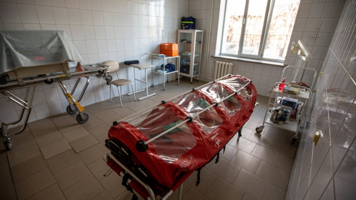 В Курганской области за сутки скончались пять пациентов с COVID-19