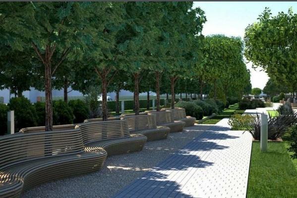 Для вдохновения челябинцы использовали проекты парков из других крупных городов