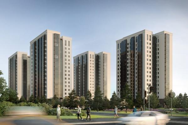 На участке появятся 5 домов с квартирами до 70 «квадратов»