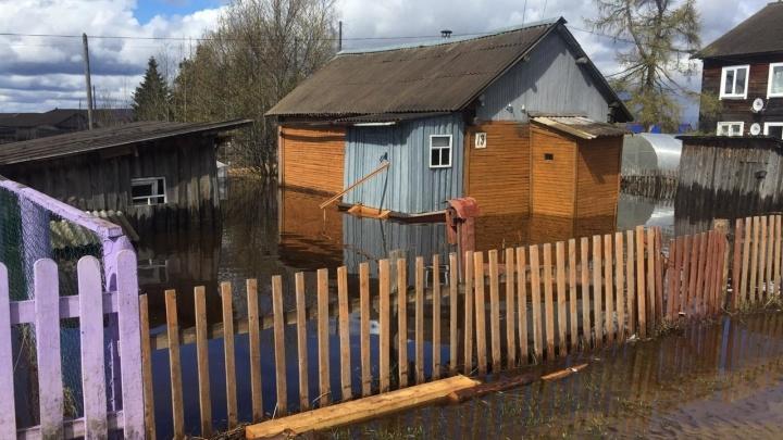 В Архангельской области подтоплены 15 населенных пунктов