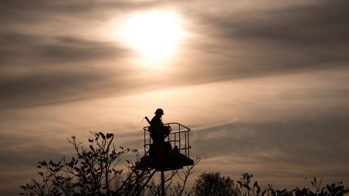 Несколько домов Ростова проведут 31 декабря без света