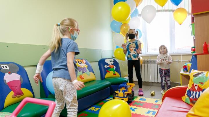 Свердловские больницы получат новые игровые комнаты на 7миллионов рублей