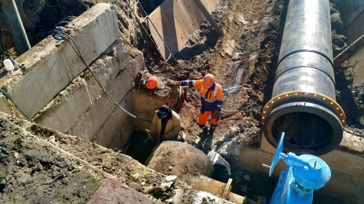В Кургане сотни домов, больницы и заводы останутся без воды из-за аварии на сетях