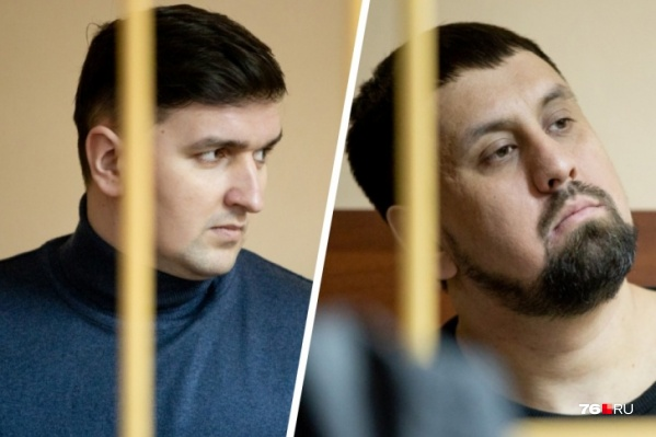 Дмитий Никитенко (слева) и Сардор Зиябов не признали свою вину