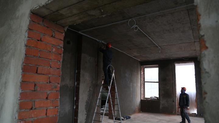 На строительной площадке в центре Уфы погиб рабочий