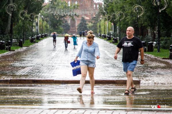В отдельных районах области пройдут кратковременные дожди