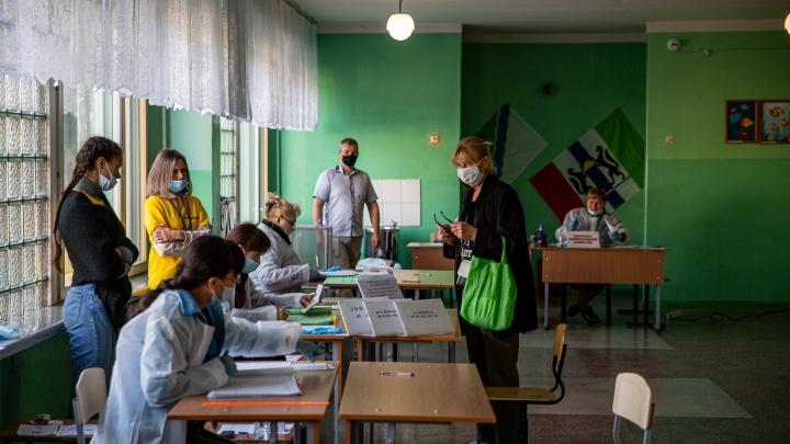 Уже обработали 98% бюллетеней: избирком обновил предварительные результаты новосибирских выборов