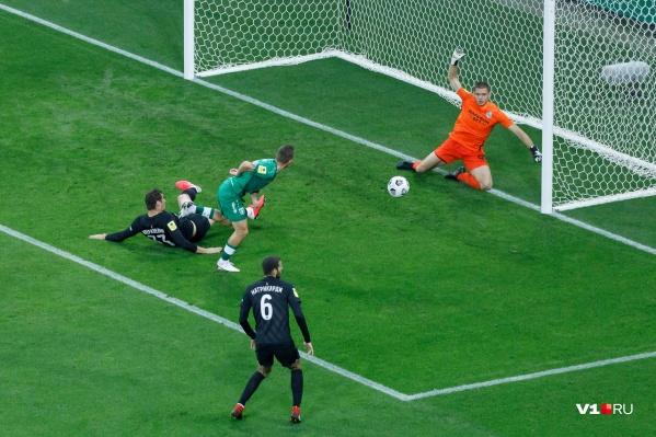 «Рубин» имел больше моментов поразить ворота и забил