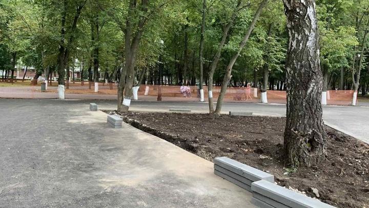 Жителей Самары просят решить судьбу стройки в парке Гагарина