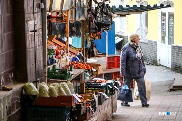 Центр Нижнего Новгорода и правда местами не блещет