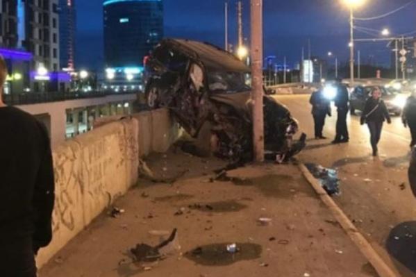 Повезло, что водитель внедорожника никого не погубил