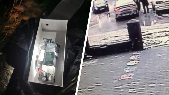 Сибиряк потребовал от знакомого миллион и отправил ему муляж бомбы на такси